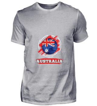 D003-0002 Country Flag Australia / Austr