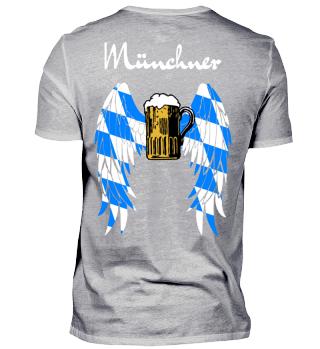 Münchner Bierengel - Oktoberfest - Bayern -