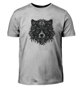 Wolf Wolf Wolf Wolf Mandala