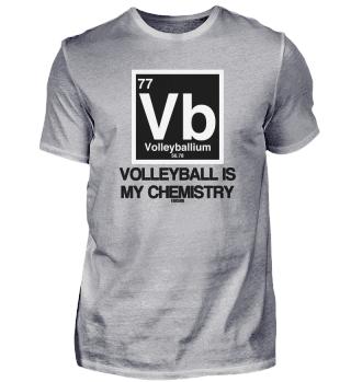 Volleyball Sport Spruch Wissenschaft