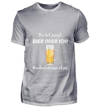 D010-0351A Bier oder sie