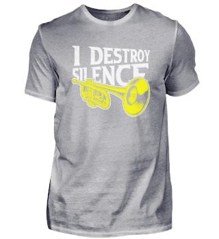 Ich Zerstöre Die Stille Mit Der Trompete
