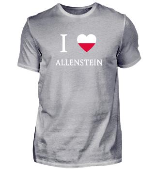 I Love - Polen - Allenstein