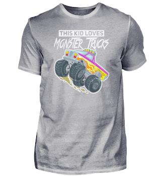 Monster Truck Gift Jam Boys
