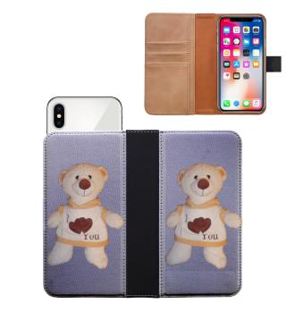 Smartphone-Hülle Wallet Teddy