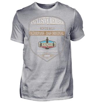 Oldiefans Exclusiv Member Shirt