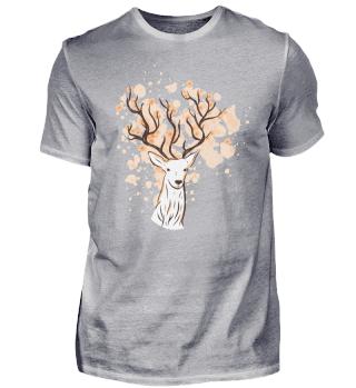 Floral antlers - Deer