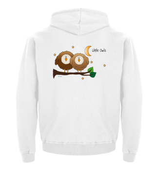 Little Owls - Kinderhoodie (Eule, Eulen)