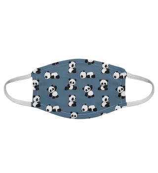 Kawaii Panda Pattern Pandbären Muster