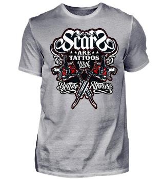 Herren Kurzarm T-Shirt Tattoo Ramirez