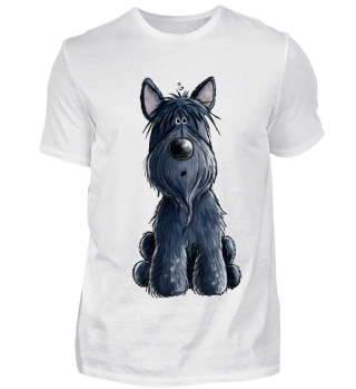 Funny Scottie I Scottish Terrier Hund