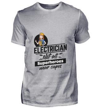 D001-0523B Female Electrician Elektriker