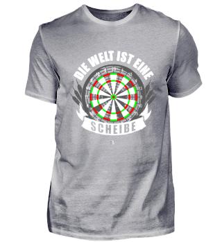 Dart Scheibe Dartspieler Team Geschenk