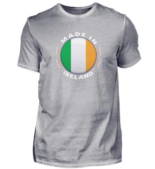 Ireland Pocket Rounded Flag Shirt