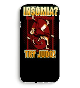 Insomnia? Try Judo gift shirt for Judoka