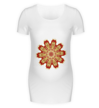 Maternity shirt, Mandala Design