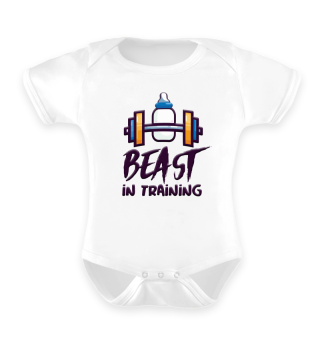 Baby Bodybuilding Fitness Beast Shirt
