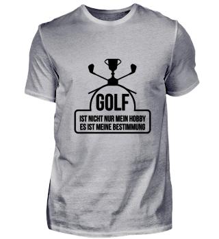 Golf ist nicht nur mein Hobby, es ist me