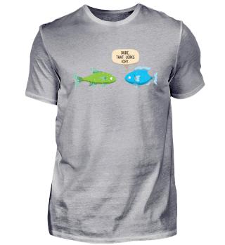 Fisch Witz Lustiges Aquarium Geschenk