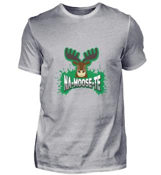 Namaste Yoga Shirt Funny Moose Gift