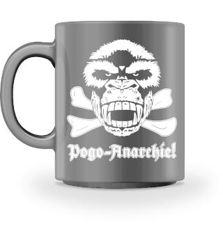 Gorilla Skull Pogo-Anarchie!