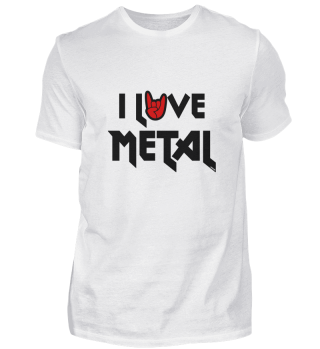 I Love Metal Music