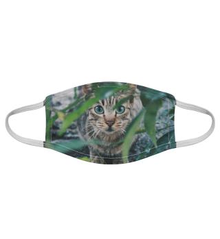 Gesichtsmaske mit Katzenmotiv 20.53