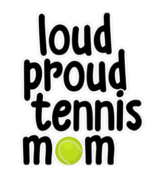 Lute, proud, tennis mother Mama