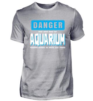 Warnung vor Gefahren im Aquarium