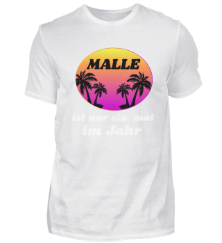 Malle 1x time a year Mallorca vacation