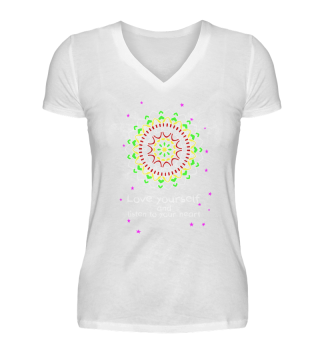 Mandala Love yourself Sterne