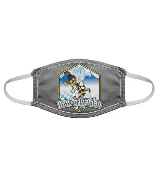 Bee Bavarian Maske Stoff