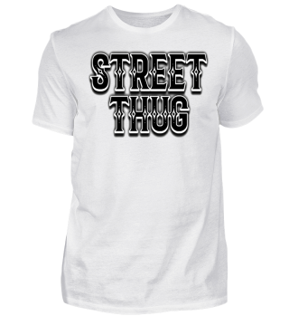 Herren Kurzarm T-Shirt Street Thug Ramirez