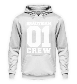 Junggesellenabschied Bräutigam 01 Crew