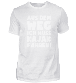 Geschenk Kajakfahren: Muss Kajak fahren!