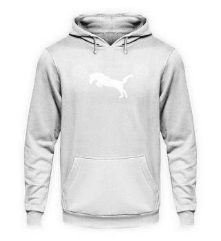 Pferd Weiß Pullover