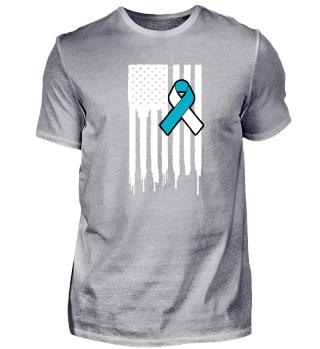 Fck Cancer Shirt cervical cancer 3
