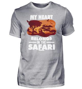 My heart belongs to the safari