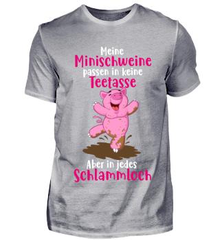 Minischwein Minipig Teacup pig Geschenk