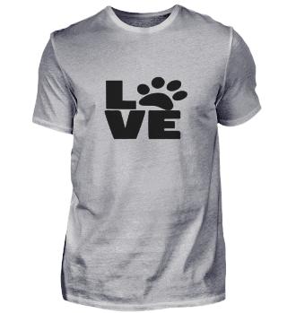 Love Hund T-Shirt
