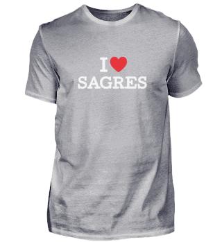 I LOVE SAGRES | A CLASSIC HEART DESIGN