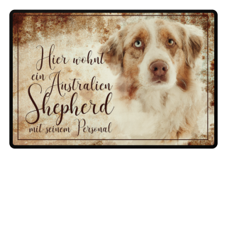 Fussmatte Australian Shepherd