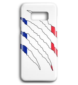 Frankreich Flagge WM Handyhülle Geschenk