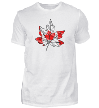 Canadian flag with Maple leaf