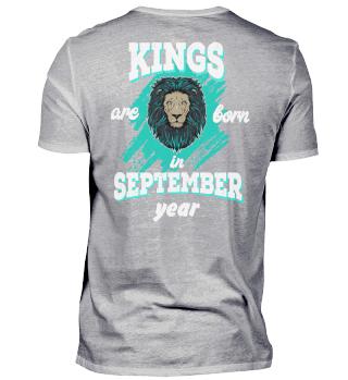 kings are born in september back