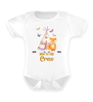 New To The Crew Boho Baby Fox