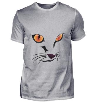 D009-0013 Cat Face III / Katze Gesicht