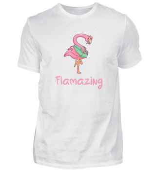 Flamazing holiday gift Flamingo