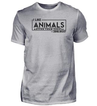 Ich mag Tiere mehr als Menschen dunkel
