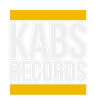 KABS RECORDS - Basic Sticker